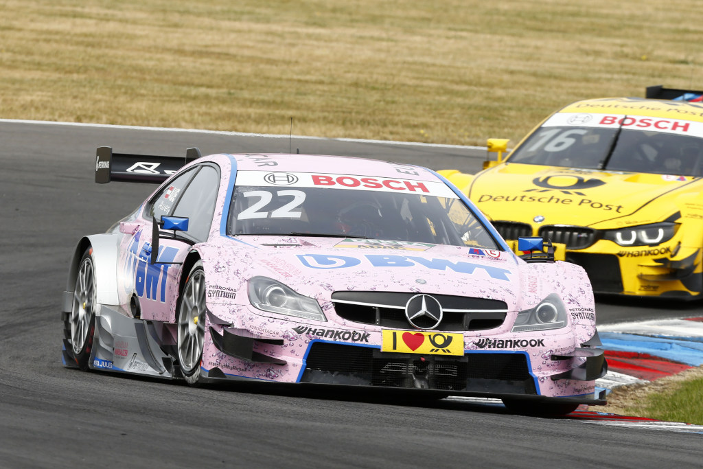 DTM Rennen 2015, Lucas Auer (Bild: Daimler AG)