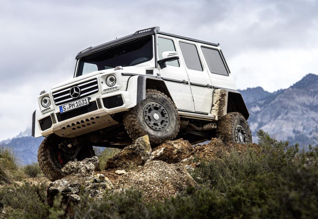 Mercedes-Benz G 500 4x4² (Bild: Daimler AG)