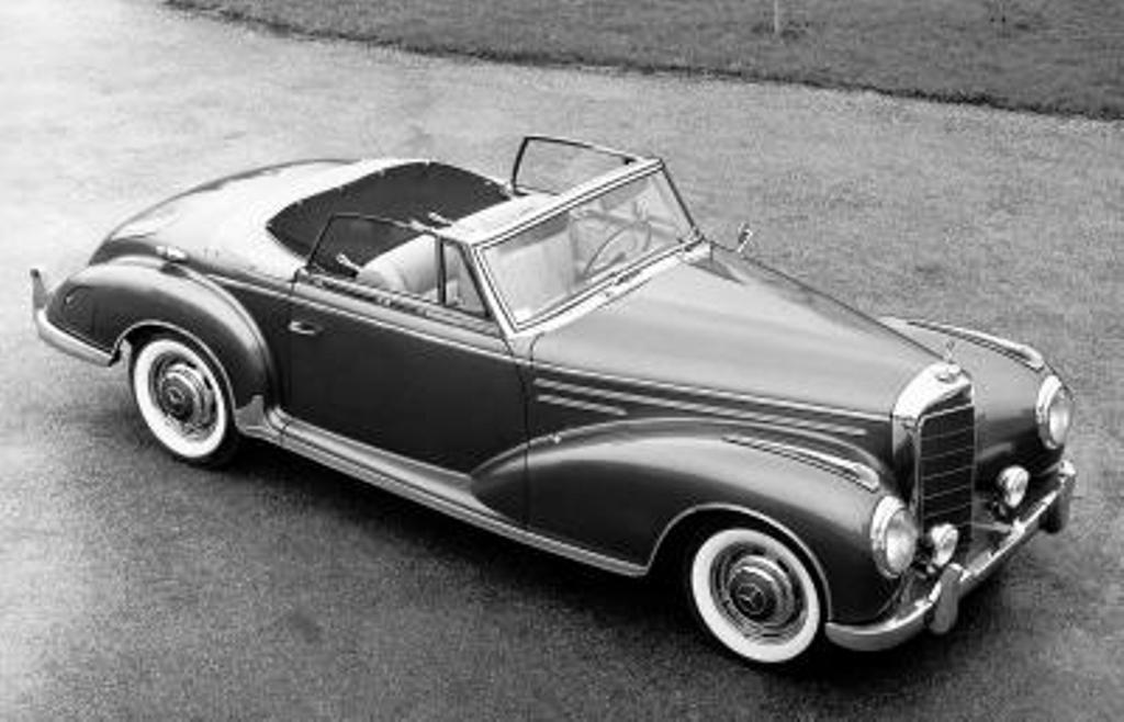 Mercedes-Benz Typ 300 Sc Roadster (W 188 II). Von 1956 bis 1958 wurden nur 53 Exemplare gebaut (Bild: Daimler AG)