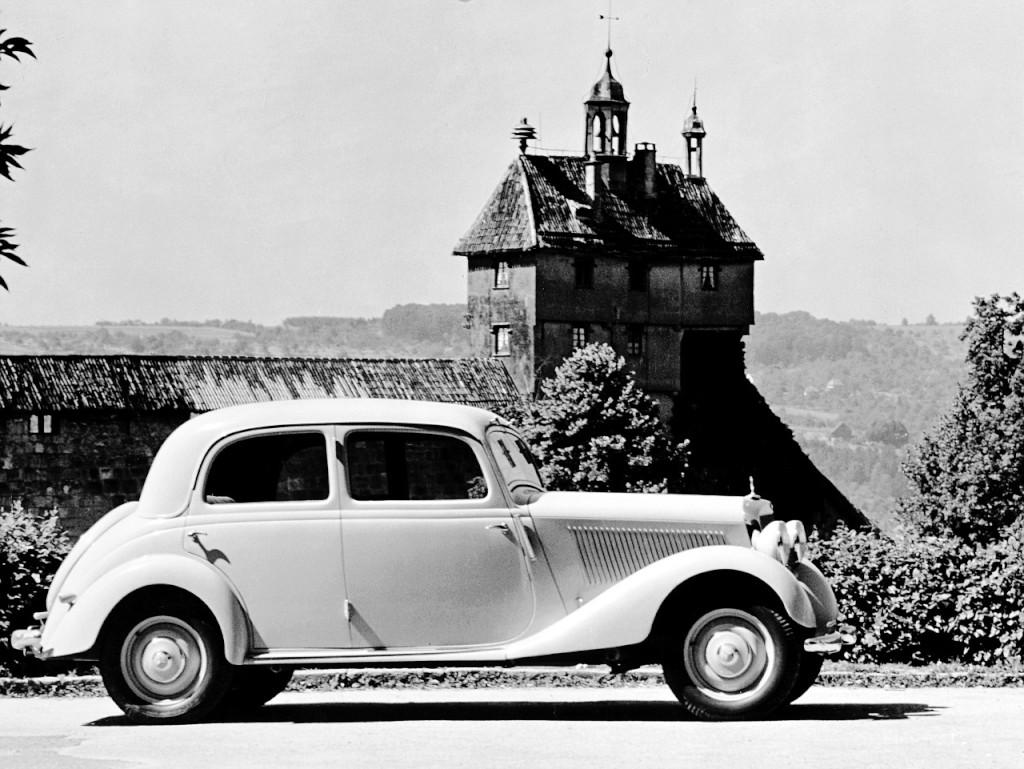 Erste E-Klasse= Mercedes-Benz Typ 170 V Limousine (Bild:  Daimler AG)