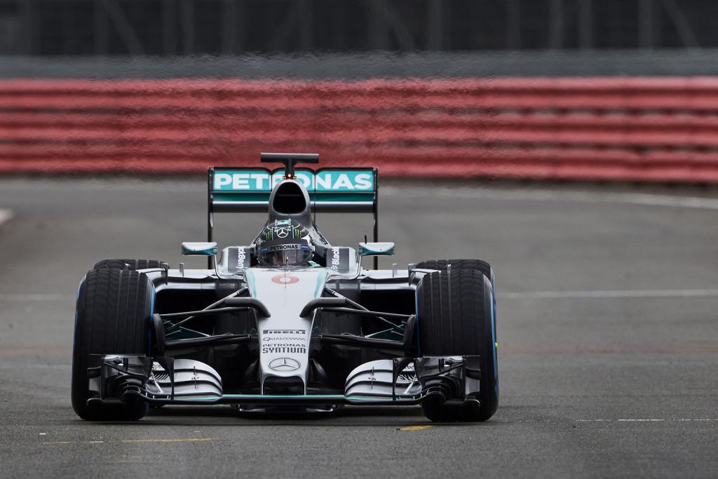 Nico Rosberg im MERCEDES AMG PETRONAS, F1 W06 Hybrid (Bild: Daimler AG)