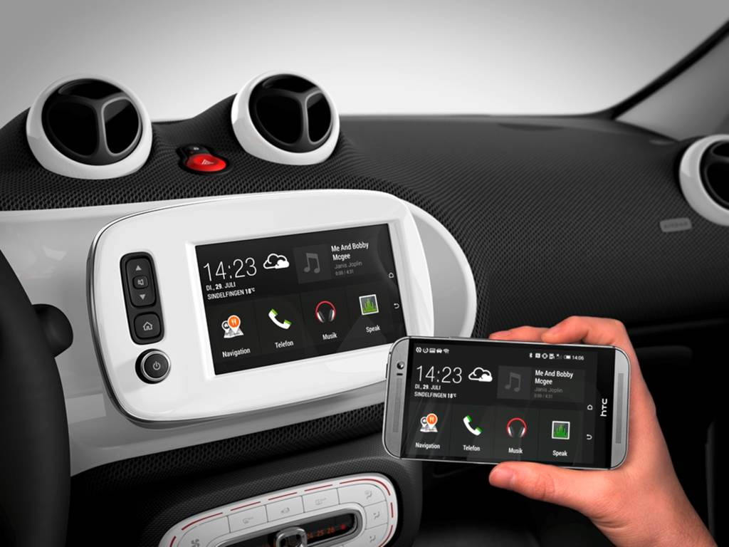 smart, 2015, MirrorLink®, smart Media-System (Bild: Daimler)