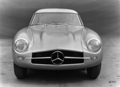 Mercedes-Benz 300 SL (W 194) mit der Chassisnummer W 194 011. Rennsportprototyp für die Rennsaison 1953. Dieser Prototyp kam nicht zum Renneinsatz.(Bild: Daimler AG)