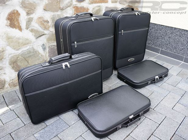 Roadsterbag-Koffer für den SLK R171 in schwarz (Bild: Roadster Concept)