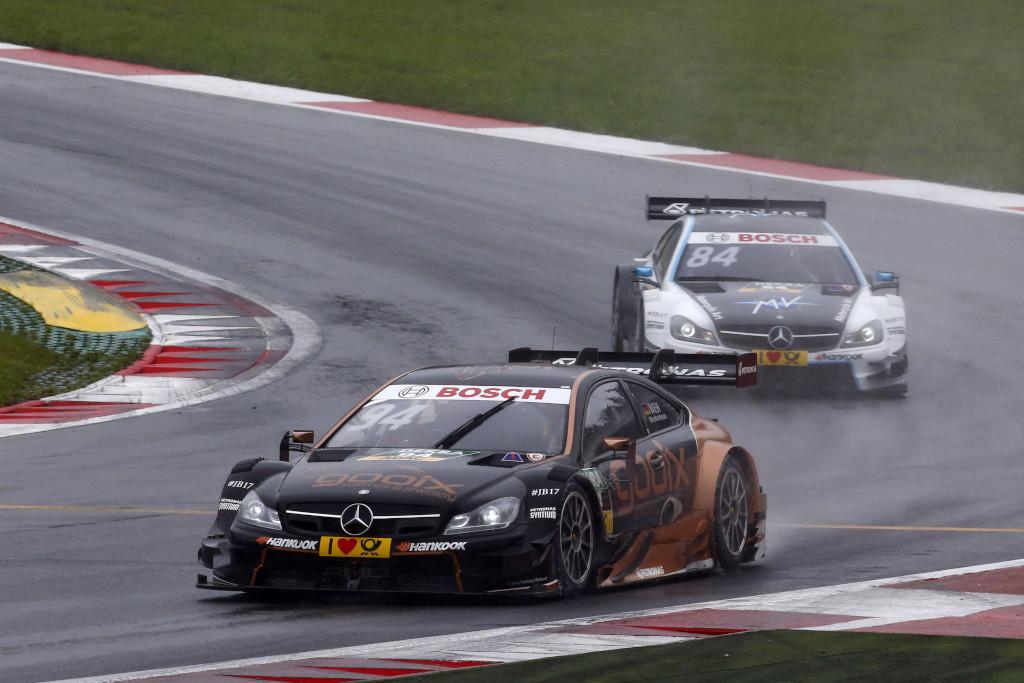 Pascal Wehrlein bleibt im zweiten Rennen in Spielberg auch nach dem Urteil gegen Audi leider punktlos. (Bild: Daimler AG)