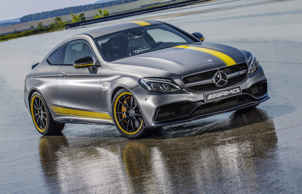 Das Sondermodell Mercedes-AMG C 63 Coupé Edition 1 (Bild: Daimler AG)