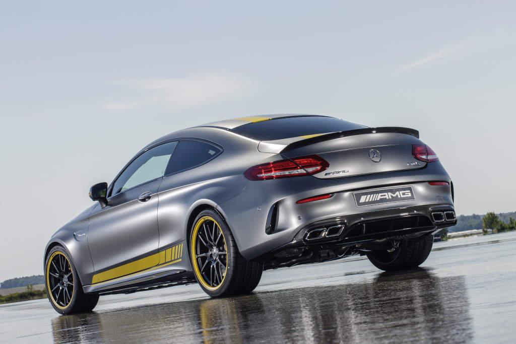 Ein schöner Rücken beim Mercedes-AMG C 63 Coupé Edition 1 (Bild: Daimler AG)