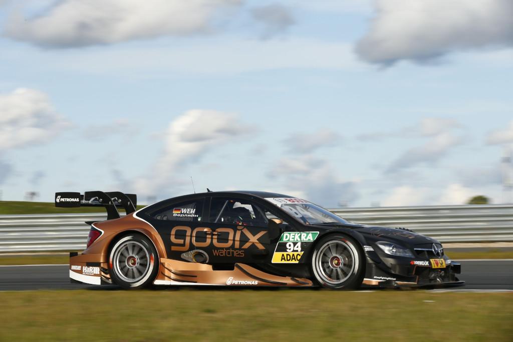 Pascal Wehrlein will den Abstand zu Audi Pilot Ekström in der Meisterschaft verkürzen. Gelingt ihm das in Oschersleben? (Bild: Daimler AG)