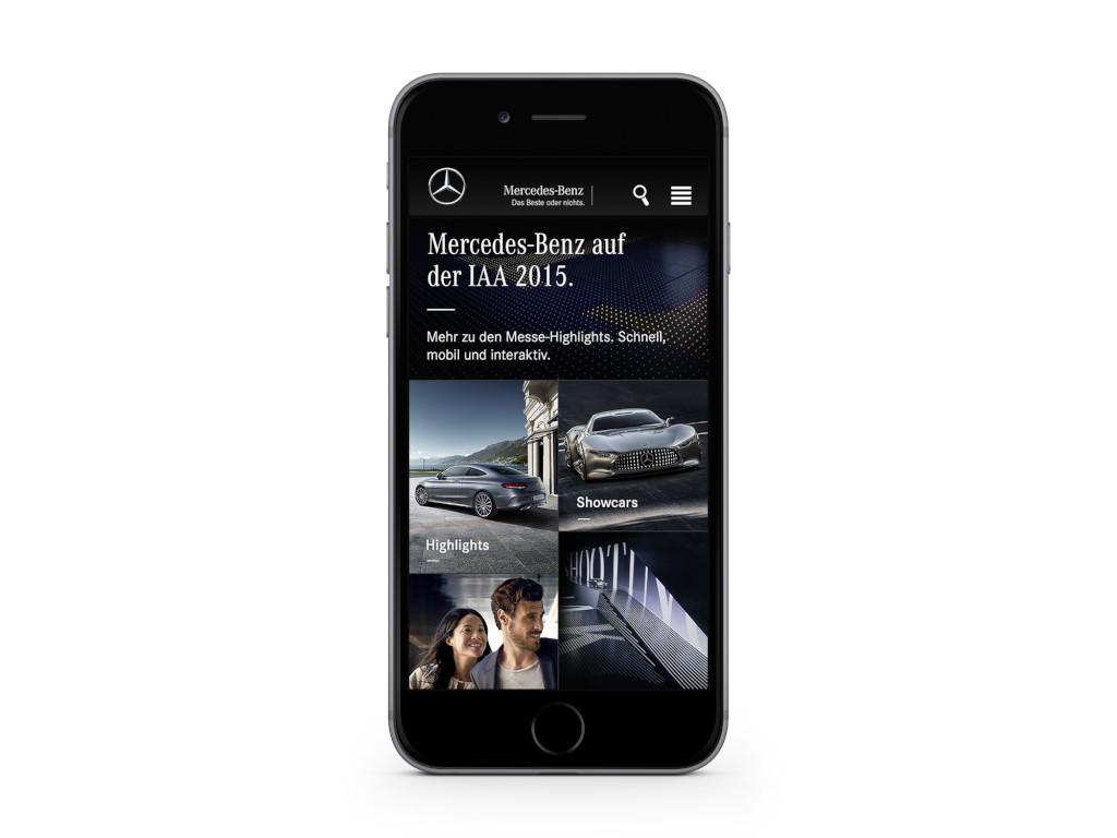 Mercedes-Benz IAA App (Bild: Daimler AG)