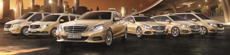 Inzwischen gibt es unglaublich viele Mercedes-Taxi Varianten (Bild: Daimler AG)