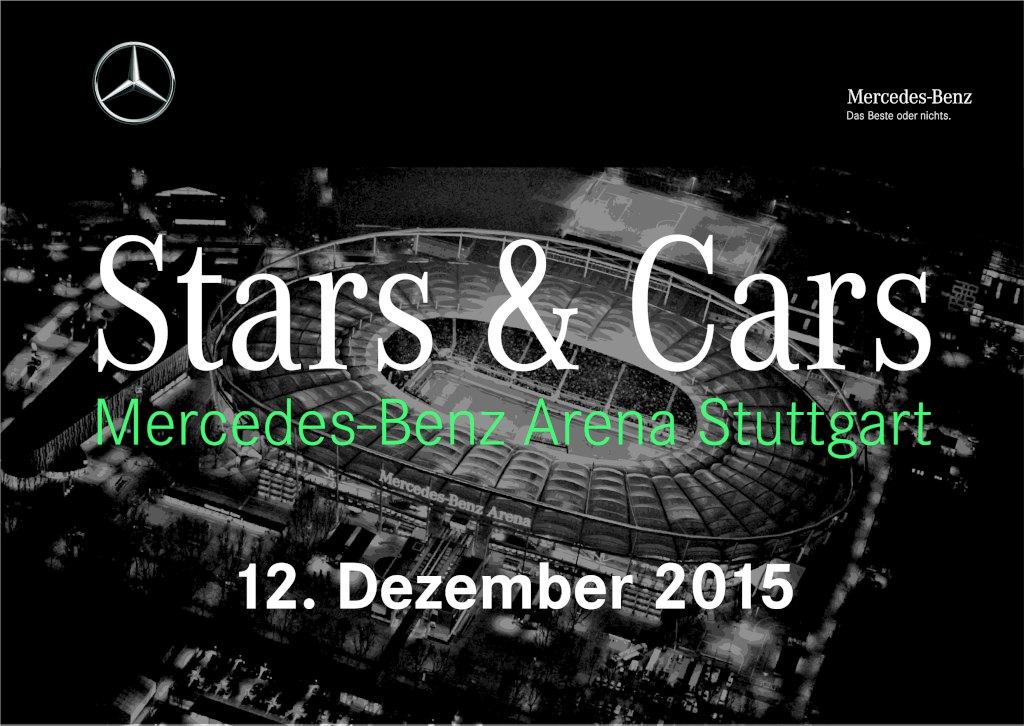 Stars & Cars 2015 erstmals in der Mercedes-Benz Arena in Stuttgart (12.12.2015) (Bild: Daimler AG)