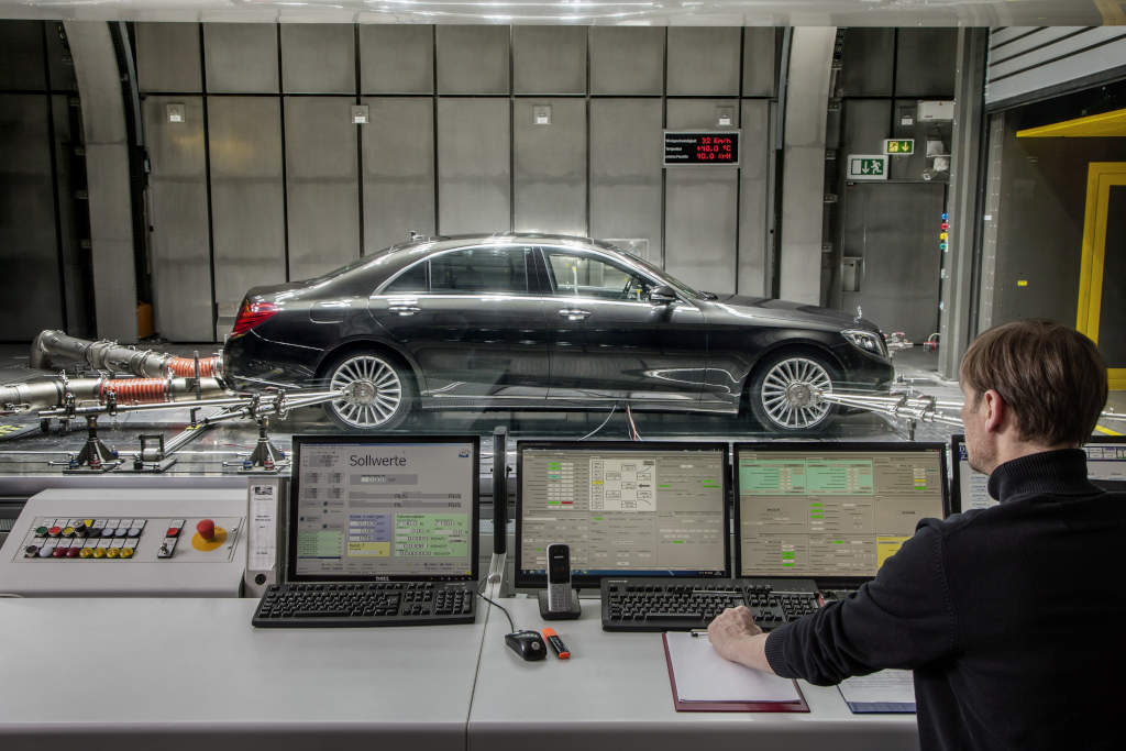 S-Klasse mit CO2-Klimaanlage (Bild: Daimler AG)