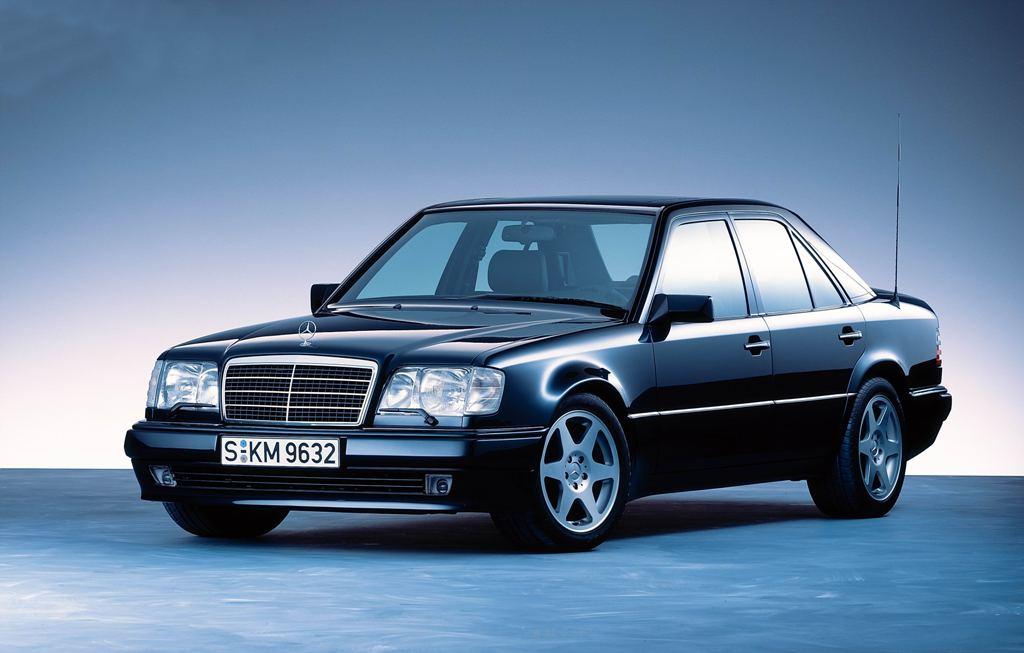 Dezent aber dominant: Der 500 E zeigt nicht auf den ersten Blick, was in ihm steckt (Bild: Daimler AG)