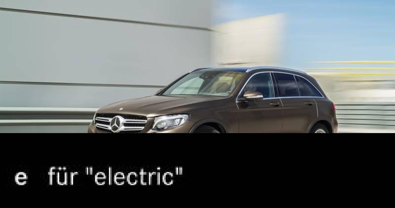 Kommt ein ein elektrisch angetriebener GLC mit 500 KM Reichweite? (Aus Bildern der Daimler AG)