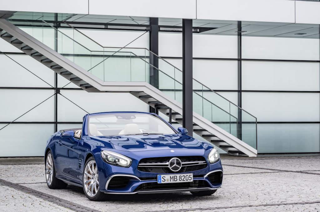 Mercedes-AMG SL 65, Brilliantblau (Bild: Daimler AG)