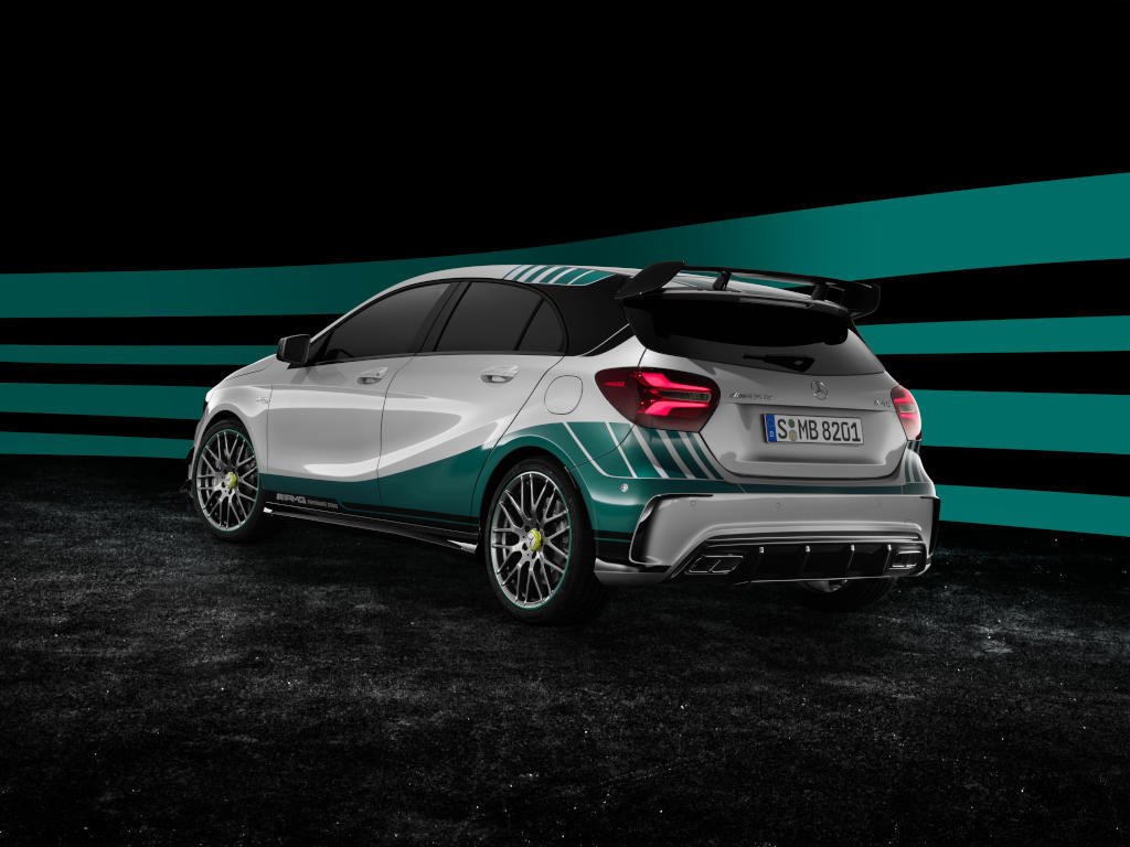 Mercedes-AMG A 45 4MATIC World Champions Edition (Bild: Daimler AG)