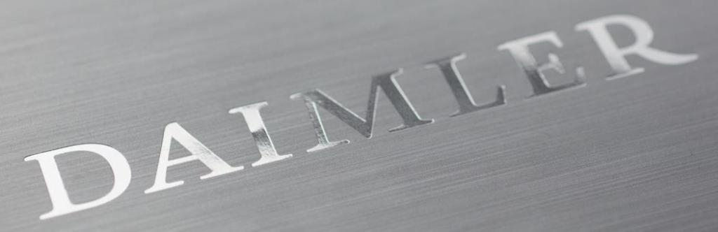 Neues Corporate Design bei Daimler (Bild: Daimler AG)