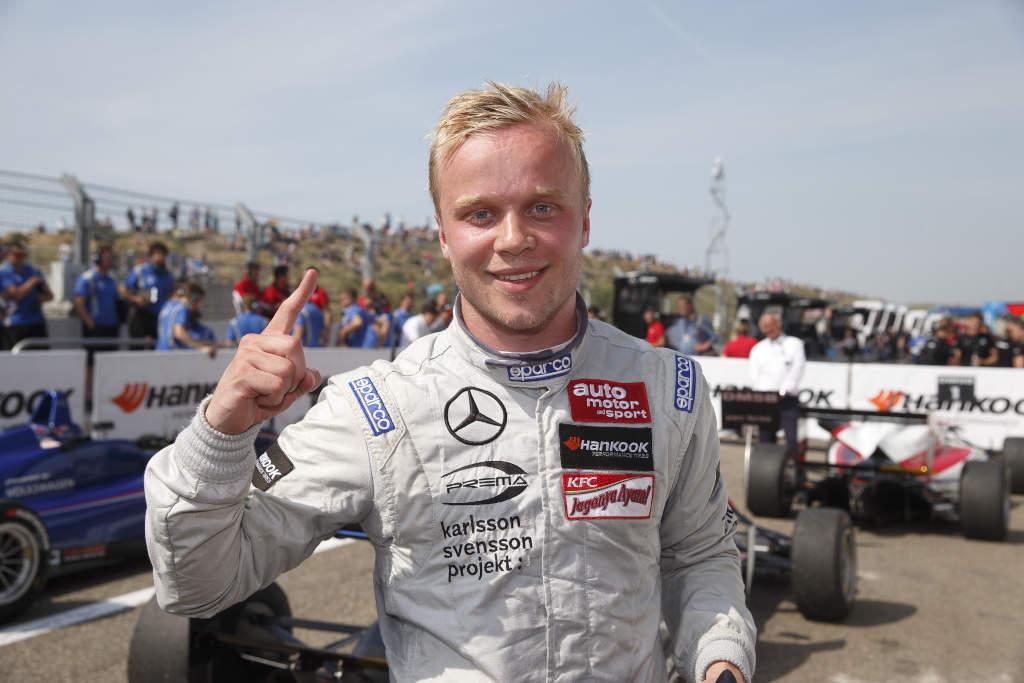 FIA Formel 3 Champion Felix Rosenqvist (Bild: Daimler AG)