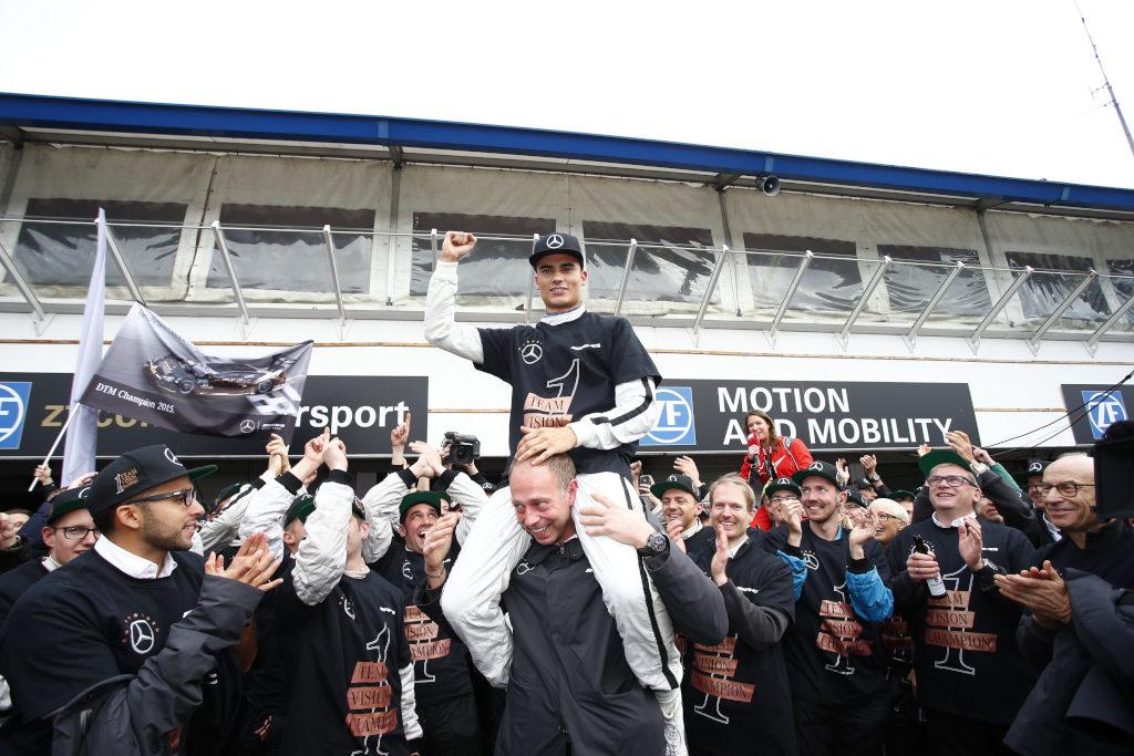 DTM-Champion Pascal Wehrlein (Bild: Daimler AG)