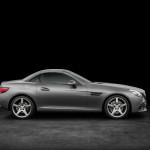 Mercedes-Benz SLC 300, designo cerrusitgrau magno, AMG Line (Bild: Daimler AG)