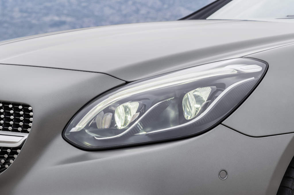 Mercedes-Benz SLC 300, neues LED-Licht (Bild: Daimler AG)