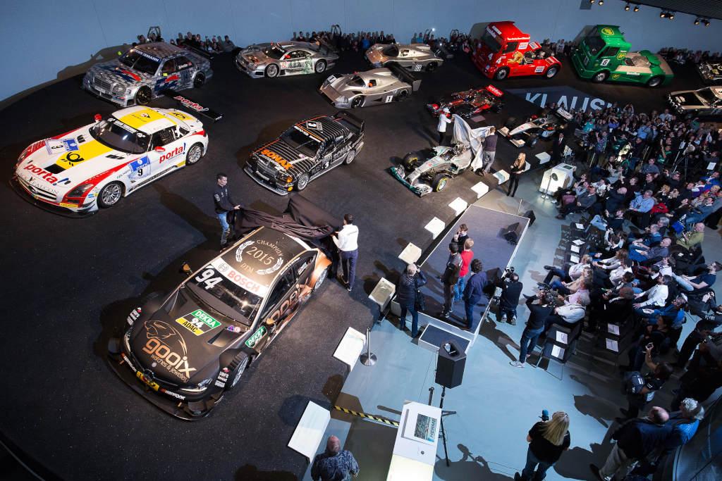 Uebergabe Formel 1 und DTM Fahrzeuge im Mercedes Benz Museum (Bild: Daimler AG)