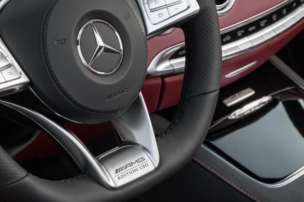 """Mercedes-AMG S 63 4MATIC Cabriolet """"Edition 130"""" (A217) einer von 130 (Bild: Daimler AG)"""