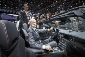 Dieter Zetsche, Vorstandsvorsitzender der Daimler AG im SLC (Bild: Daimler AG)