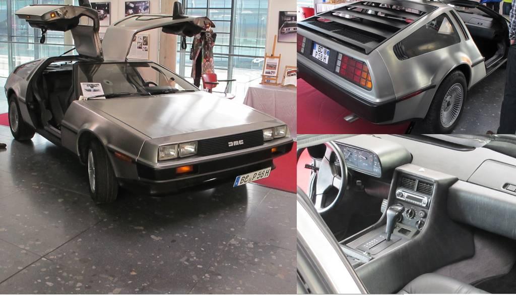 """Kultauto aus """"Zurück in die Zukunft"""" - der DeLorean DMC-12 (Bild: Sven Kamm)"""