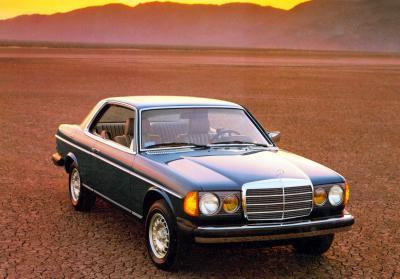 Das W123 Coupé (Bild: Daimler AG)