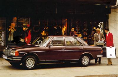 Einkaufslimousine W123 (Bild: Daimler AG)