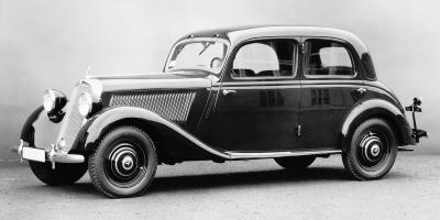 Der Mercedes-Benz 170V  – 1936 (Bild: Daimler AG)