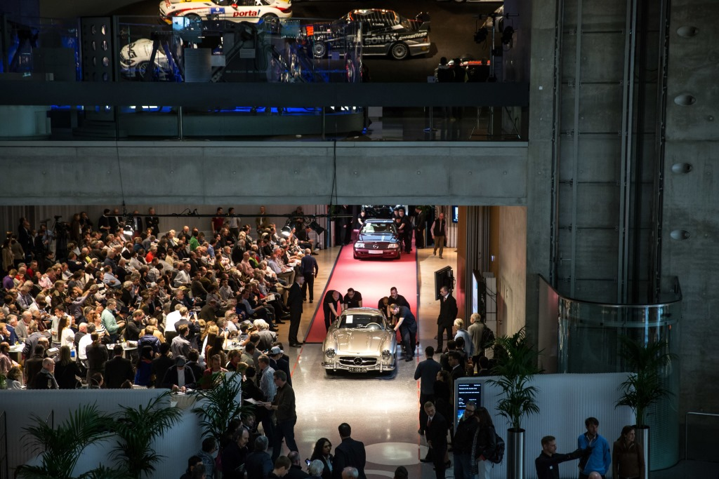 Bonhams Mercedes-Benz Sale 2015 (Bild: Daimler AG)