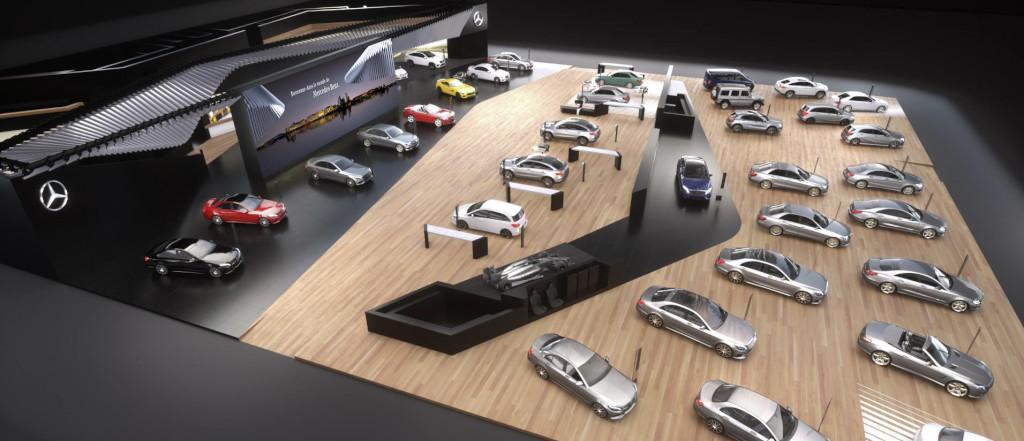 Mercedes-Benz auf dem Internationalen Automobil-Salon Genf 2016 (Bild: Daimler AG)