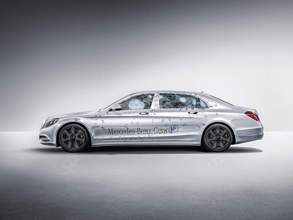Sicher: Mercedes-Maybach S 600 Guard (Bild: Daimler AG)