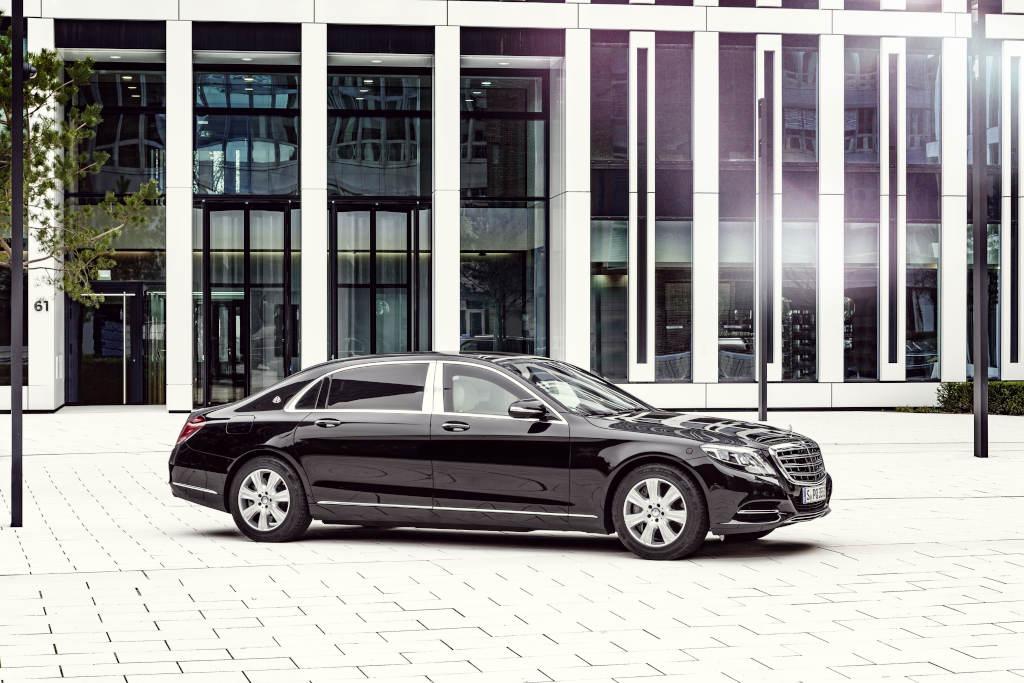 """Mercedes-Maybach S 600 Guard - kaum vom """"normalen"""" Maybach zu unterscheiden (Bild: Daimler AG)"""