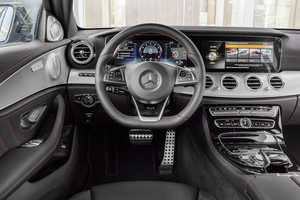 Mercedes amg e 43 4matic erste performance stufe f r die for Classe e interieur 2016