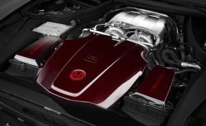 MANSORY Mercedes-AMG GT S. Nicht nur schnell, auch schick: Der 4-Liter V8 Biturbo (Bild: MANSORY)