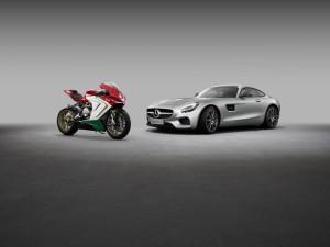 2014 gaben Mercedes-AMG und MV Agusta ihre Parterschaft bekannt (Bild: Daimler AG)
