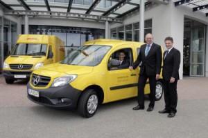 Auslaufmodell Teil 2: Die Post will eigene City-Scooter bauen (Bild: Daimler AG)