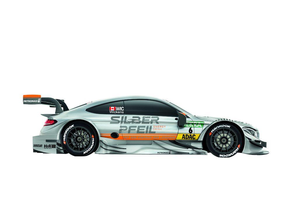 Mercedes-AMG DTM Team HWA, Robert Wickens (Bild: Daimler AG)