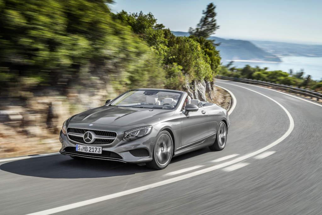 Mercedes-Benz S 500 - ein majestätisches Cabriolet, schick, sportlich und edel (Bild; Dailmer AG)