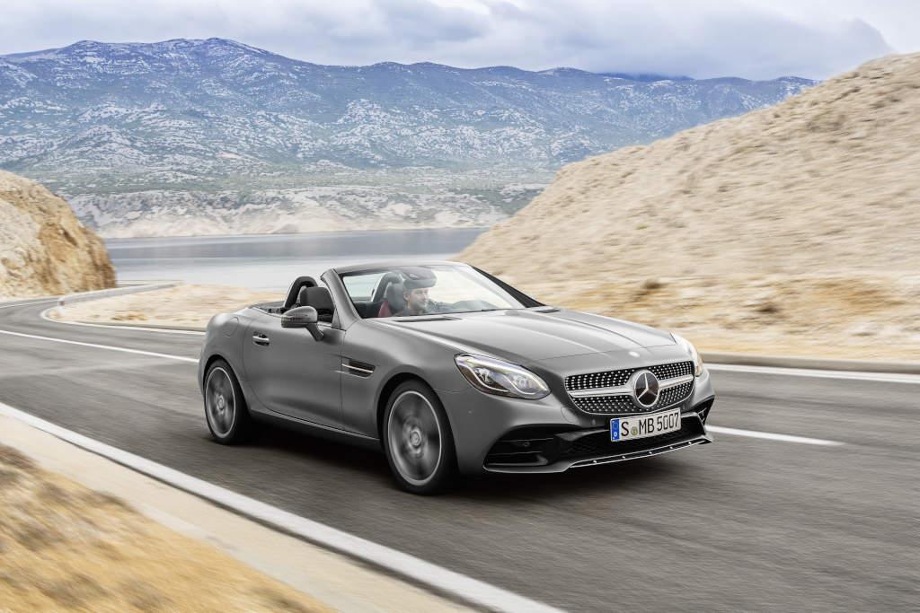 """Mercedes-Benz SLC 300, in """"echt"""" viel schicker als auf den Bildern (Bild: Daimler AG)"""