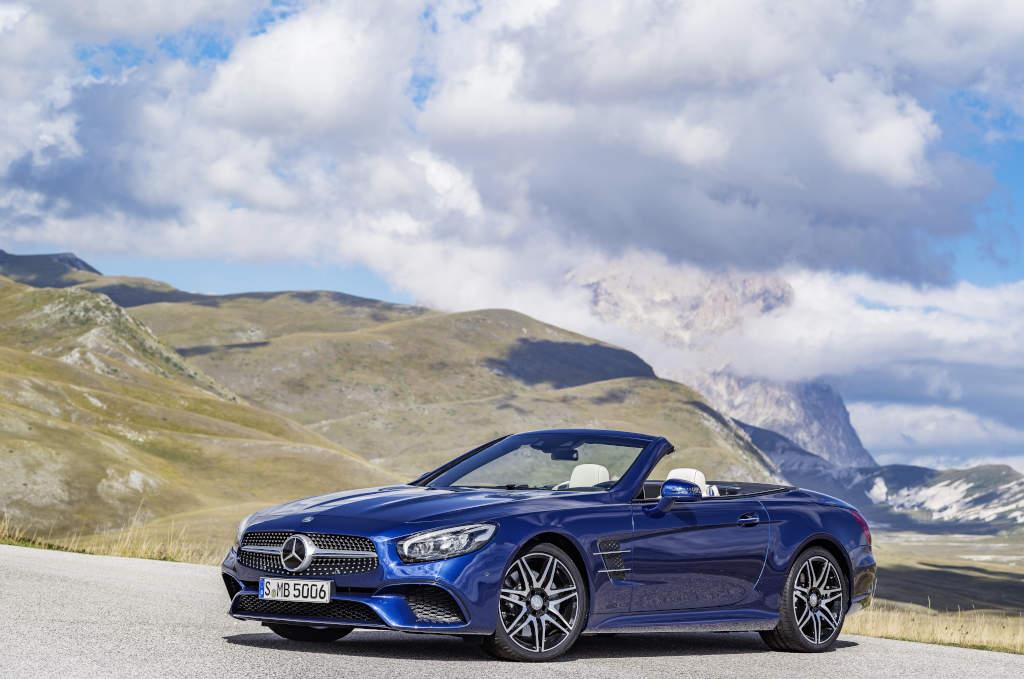 """Mercedes-Benz SL 500 - in """"echt"""" irgendwie weniger begehrenswert als auf Bildern (Bild: Daimler AG)"""
