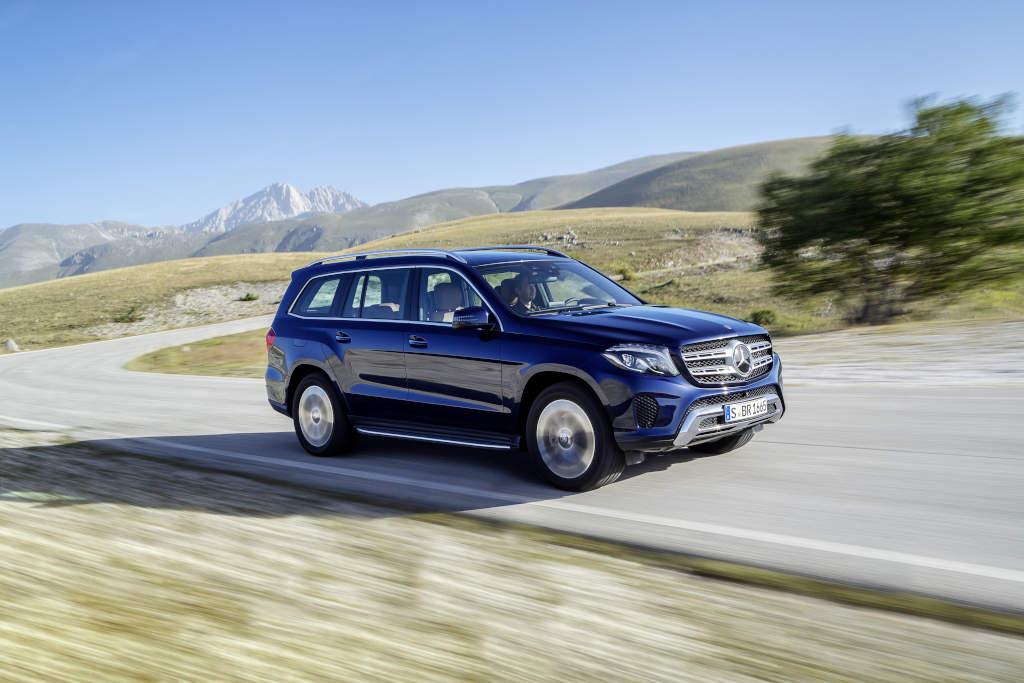 GLS 350 d - jo, groß isser... (Bild: Daimler AG)