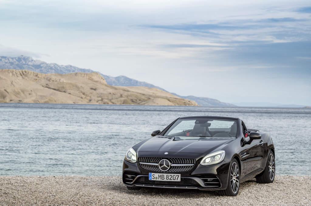 Mercedes-AMG SLC 43 - der SLK ab 2016 als Topmodell ((Bild: Daimler AG))