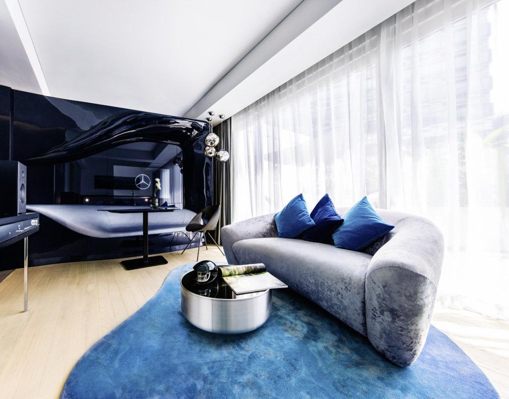 Mercedes benz style zu wasser und in beton luxusyacht und for Design appartement hamburg