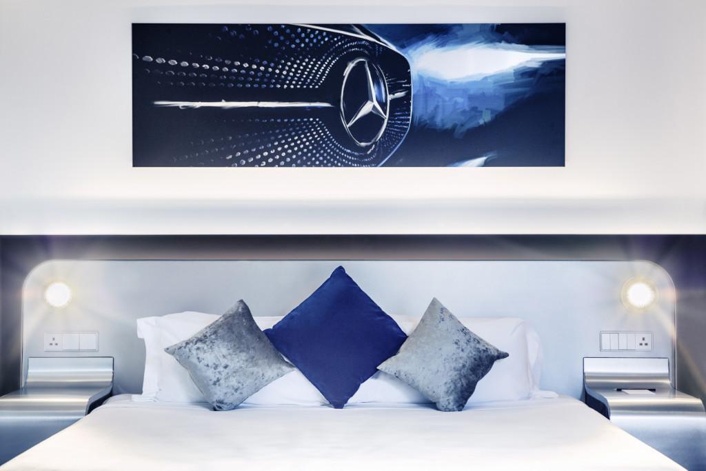 Mercedes-Benz Style Appartement: Der Stern im rechten Licht (Bild: Daimler AG)