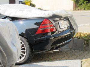 Was hinten rauskommt.... Den Abgasstreit möchte man manchmal gerne mit schönen Tönen eines Fahrzeugs wegblasen (Bild: Sven Kamm)