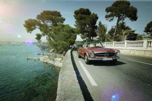 Exklusive Oldtimer-Reisen in Mercedes-Benz Klassikern (Bild: Daimler AG)